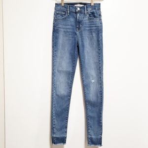 LEVI'S 720 High Rise Super Skinny Denim Jeans